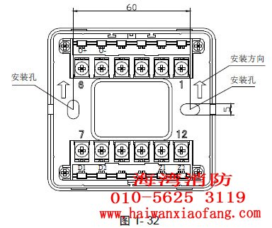 输入输出模块内部结构图