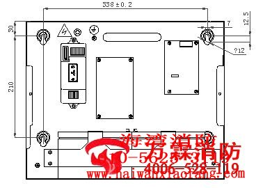 jb-kr-gst004型可燃气体报警控制器_海湾消防维修|||.